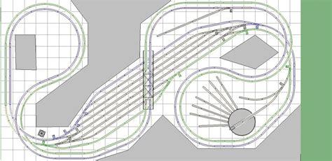 layout plans l shaped ho train layout plans