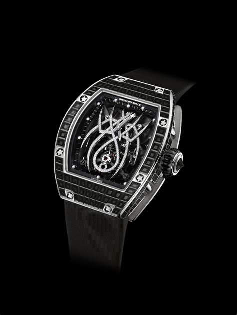 Ricard Mille Ring Black richard mille tourbillon rm 19 01 natalie portman black