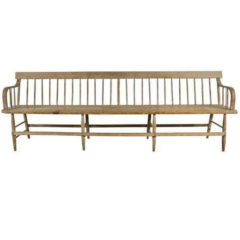 deacons bench 19th century deacon s bench at 1stdibs