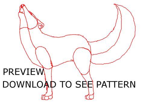 werewolf gimp tutorial realistic wolf howling pattern by xxtetriskitsunexx on