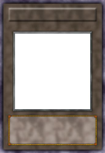 How To Make A Custom Yugioh Card Template by Image Custom Synchro Blank By Pzychoz Png Yu Gi