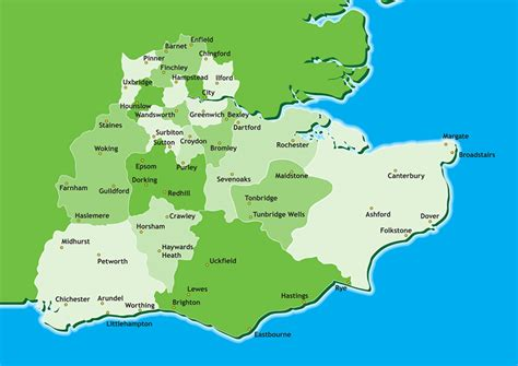 map uk south east girlguiding about us girlguiding and south east