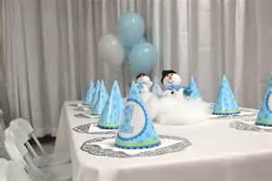 Winter wonderland birthday party sf bay area wedding event