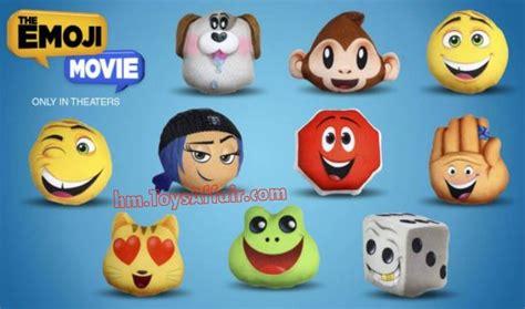 emoji film indonesia the emoji movie happy meal toys