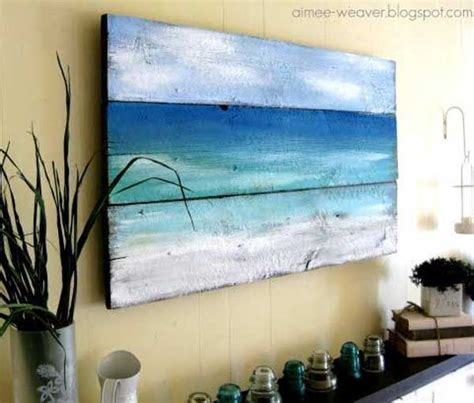 diy paintings for home decor 23 recycled pallet wall art ideas for enhancing your