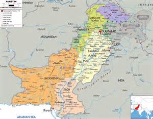 map with cities maps of pakistan detailed map of pakistan in