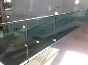 Glass Banister Coventry University Morris Fabrications Ltd