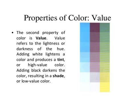 color properties foothill technology high school design elements