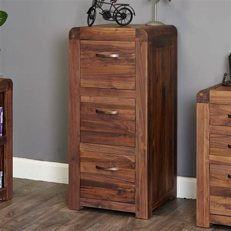walnut filing cabinet 3 drawer shiro walnut 3 drawer filing cabinet wooden furniture store