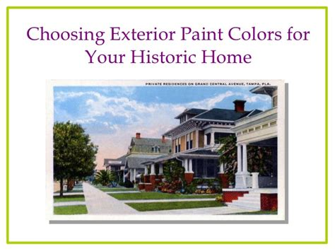 home color choosing exterior colors for your historic florida house