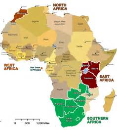 Countries In Africa Map by Show Map Of Africa With All The Countries Images