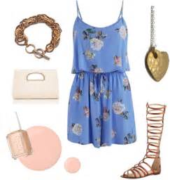 Summer outfit ideas what to wear with floral dresses