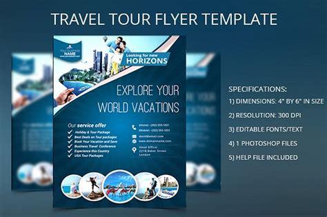 Tour Flyer Template travel tour flyer template flyer templates creative market