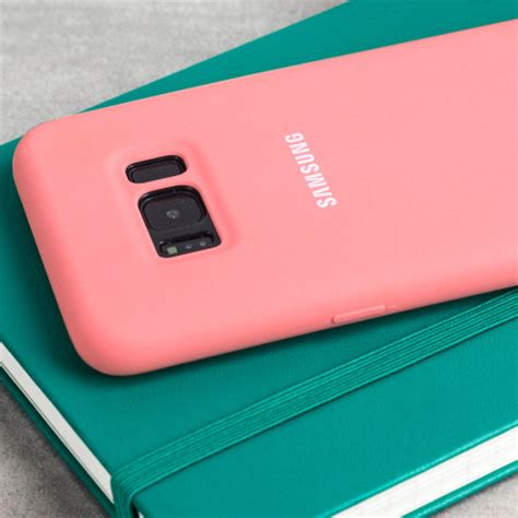 Official Samsung Silicone Cover Blue Galaxy S8 Plus official samsung galaxy s8 plus silicone cover pink