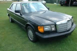 1989 Mercedes 420sel 1989 Mercedes 420 Sel Conceptcarz
