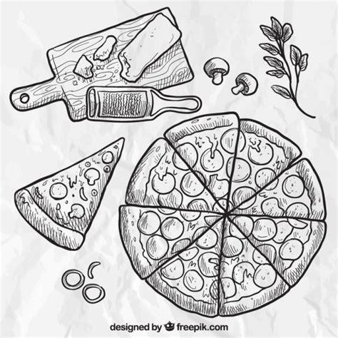 Mao Drawing Board Princess m 227 o de pizza desenhada baixar vetores gr 225 tis