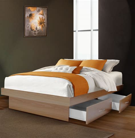 full size beds with drawers platform beds full size with drawers attractive design