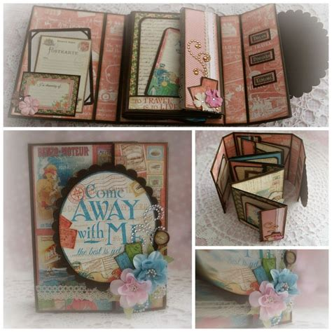 scrapbook albums tutorial 168 best graphic 45 come away with me images on pinterest