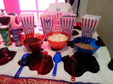Popcorn Bar Toppings by Popcorn Bar Toppings Birthday Ideas