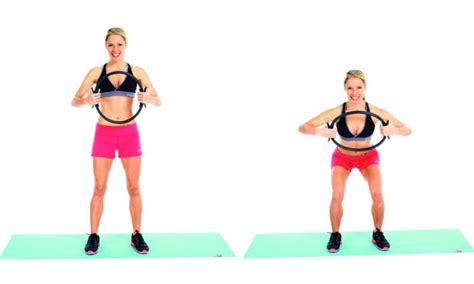 effective   work  pilates ring workout