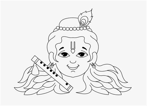 krishna little drawing krishna little drawing lord krishna