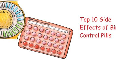 7 Best Birth Pills by 10 Side Effects Of Birth Pills That You Should
