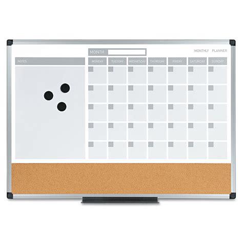 Calendar Erase Board 3 In 1 Calendar Planner Erase Board By Mastervision