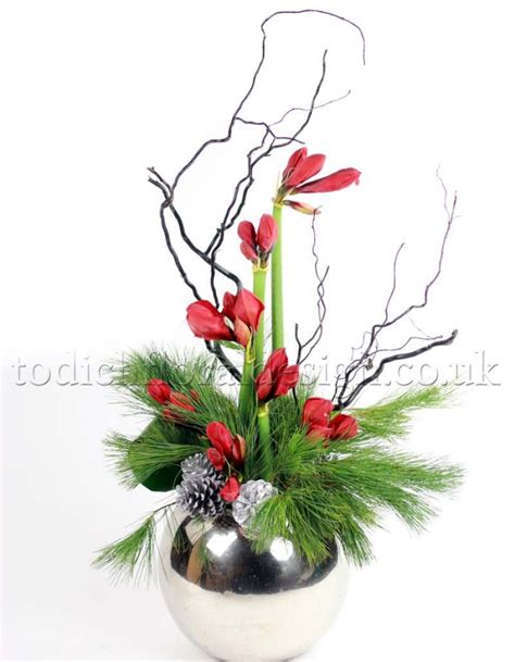christmas flowers flowers decoration gallery