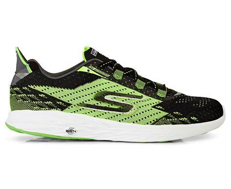 Skechers 5gen by Skechers S Gorun 5 Shoe Black Green Scoopon Shopping