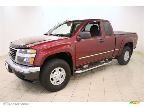 how cars engines work 2008 gmc canyon seat position control sonoma red metallic 2008 gmc canyon sle extended cab 4x4 exterior photo 51932499 gtcarlot com