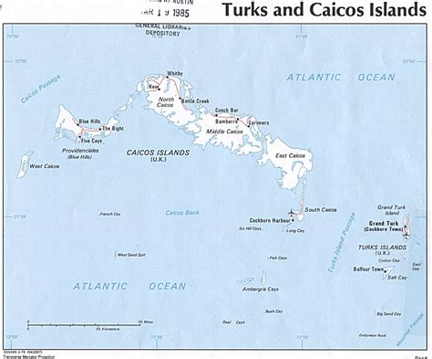 map of turks and caicos nationmaster maps of turks and caicos islands 1 in total