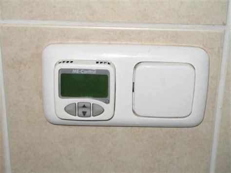 vloerverwarming badkamer stuk vervangen thermostaat werkspot