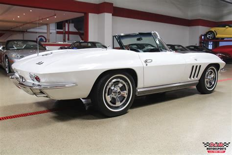 1966 corvette convertible for sale 1966 chevrolet corvette convertible stock m5806 for sale