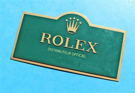calendrier de bureau rolex vintage brass goodie distributeur officiel