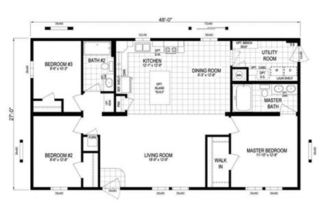 kennedy center floor plan schult kennedy heritage michigan modular mobile homes