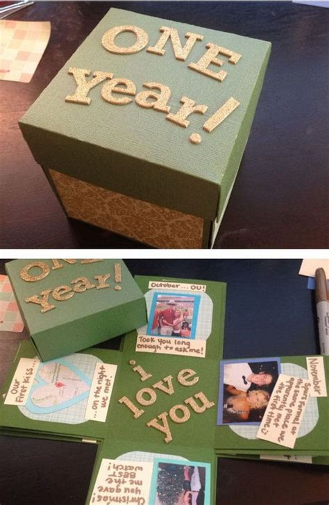 7 Creative Present Ideas For The Ones That Everything by 30 Diy Gifts For Boyfriend Exploding Boxes