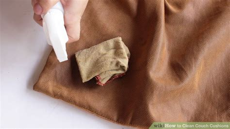 sofa cushion cleaning 4 ways to clean couch cushions wikihow
