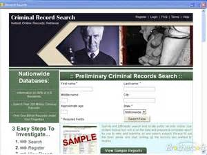 Find Arrest Records Free Criminal Record Search Criminal Record Search 2 1 0
