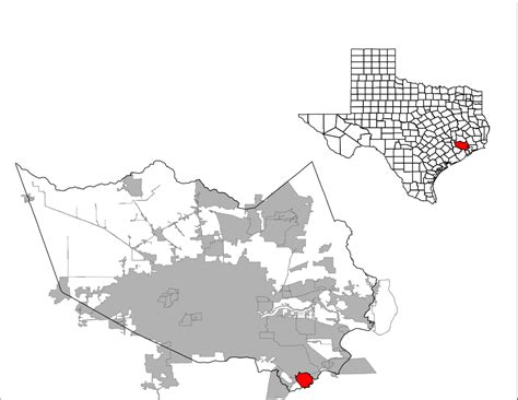 webster texas map file harris county webster svg