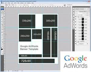 Banner Template Size by Adwords Remarketing Banner Size Template Rise Of