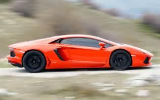Side View Of Lamborghini Lamborghini Aventador Automobile Magazine