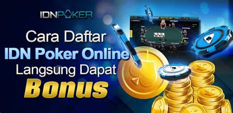 mudah daftar idn poker  situs agen idn poker  terbaik indonesia
