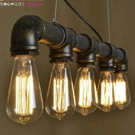 Industrial Style Kitchen Lights Grade A Retro Nostalgia Loft Industrial Style Coffee Bar Pendant Lights Restaurant Pipe Pendant