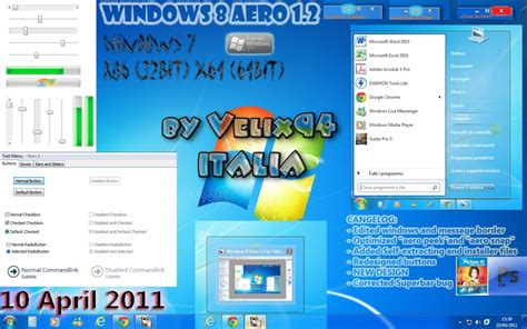 theme windows 8 1 aero windows 8 aero 1 2 theme for windows 7