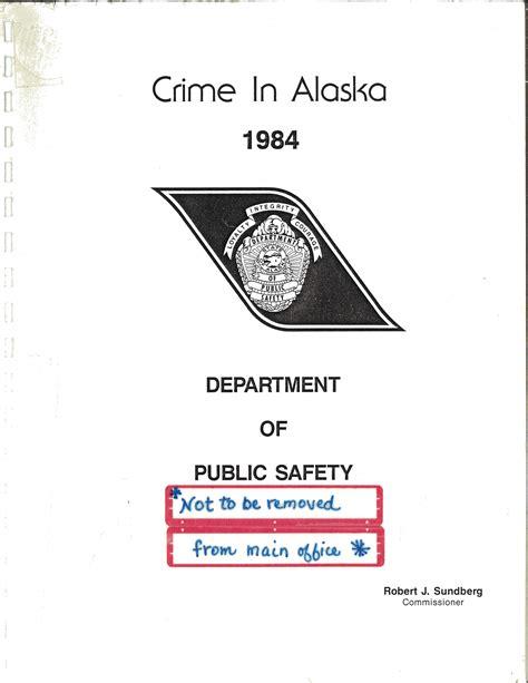 Alaska Criminal Record Crime Reports Justice Center Of