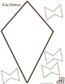 Pattern kite great for spring poetry contractions or
