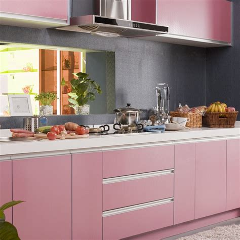 Küche Verschönern Folie 1062 by Wandfarbe Rosa Grau