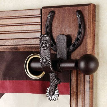 cowboy curtain rods 933 best cowboy country crafts images on pinterest