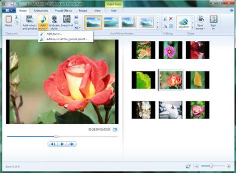 windows live movie maker tutorial video editing mp4 to movie maker how to import mp4 to windows lite
