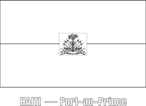 haiti map coloring page nation flag of haiti coloring page nation flag of haiti